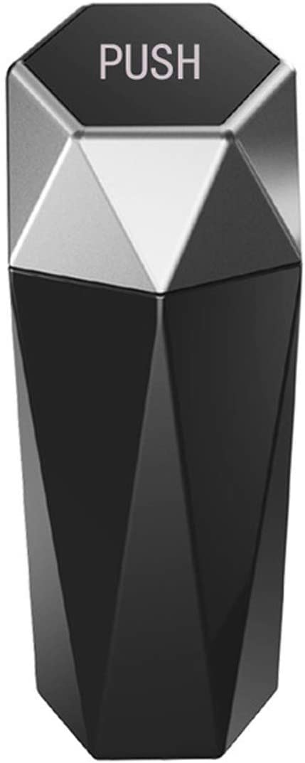 JLTX Car Trash Can Dustbin with Memphis Mall Portable Lid unisex