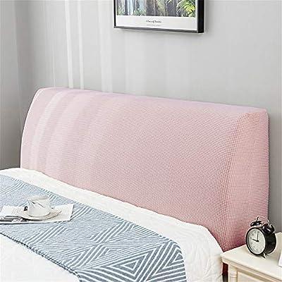 MATERIAL: esta cubierta trasera es adecuada para un respaldo con una altura de 65 cm y un grosor de menos de 25 cm. Elija el tamaño apropiado para el ancho. Mida la longitud, el ancho y la altura de la cama y la espalda antes de comprar. TAMAÑO: El t...