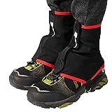 Lixada Polainas Trail Running Cubiertas Protectoras para Calzado Trail Low Gaiters para Running Deportes al Aire Libre
