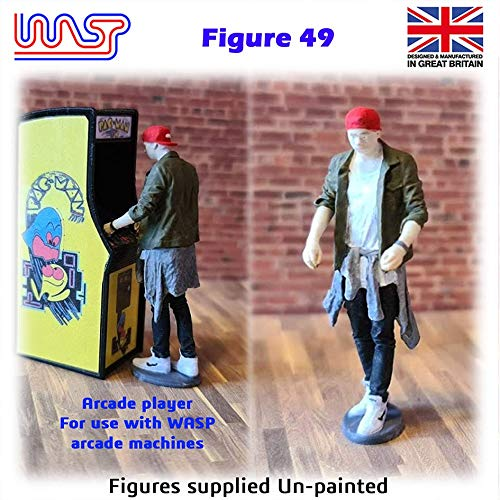 Trackside Figure Scenery Display No 49 New 1:32 Scale WASP