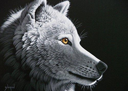 Puzzle 1000 Teile - Schim Schimmel - Wolf Light