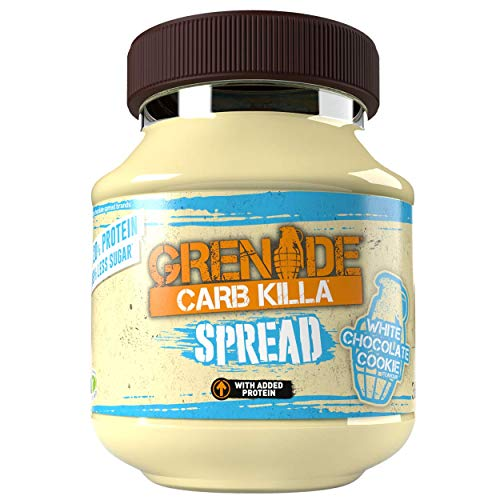 Grenade FID44408 - Carb Killa Spread White Chocolate Cookie, 360g (Pack of 1)