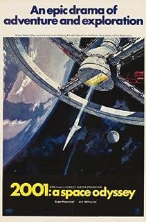 16 x 25 2001: A Space Odyssey Movie Poster PosterPrint Frameless Art Gift 40 x 63 cm