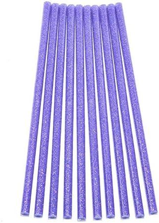 ShenyuanIndustrial Series 20 stksset paars 7x200mm hete smeltlijmstokken 7mm voor elektrische lijmpistool ambachtelijke DIY handherstel accessoires zelfklevende afdichtingstick