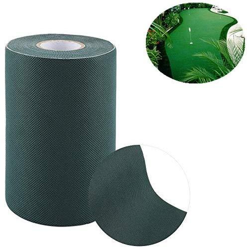 Sevenyou Wasserdichtes, umweltfreundliches, feuchtigkeitsbeständiges, 15 * 1000 cm großes, selbstklebendes, künstliches Rasennaht-Kunstrasen-Nahtmaterial
