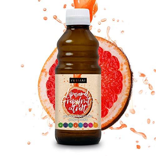 Liposomal Grapefruitkernextrakt | 30 mg Flavonoide je Tagesdosis | Hohe Bioverfügbarkeit | Extrakt aus Kern und -schale (vegan) | Hergestellt in Deutschland
