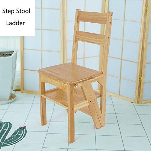 Jiamuxiangsi- Houten vouwen Stap Kruk Voor Volwassenen Kinderen Keuken Houten Ladders Kleine Voet Krukken Binnen Vouwtrap Draagbare Schoen Bank Bloem Rack Opslag Plank Stap kruk