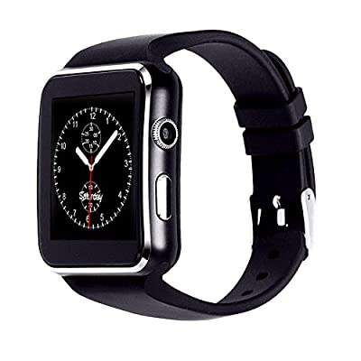 ASOON Bluetooth Smartwatch Wrist Watches Support Micro SIM Card for Android Samsung HTC Sony Huawei LG Smartphone