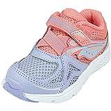 Saucony Girls' Baby Ride 9 Sneaker, Pink, 10.5...