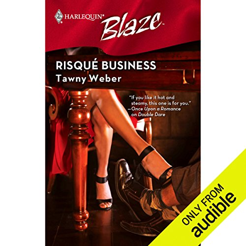 Risque Business  audiobook cover art