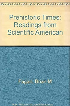 Hardcover Prehistoric times: Readings from Scientific American Book
