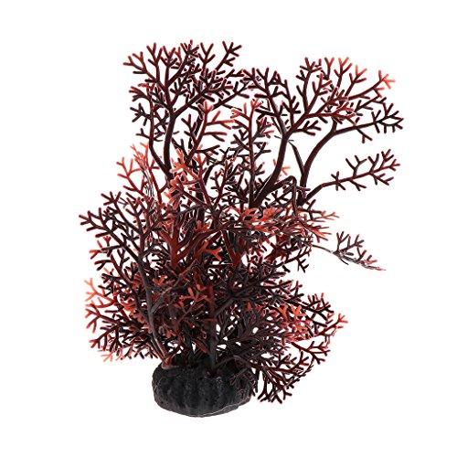 Ruda Aquarium-Pflanze künstliches Korallenwassergras, Dekoration