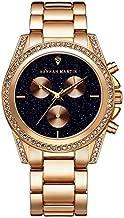 Hannah Martin Gold Black Dial 40mm Watch