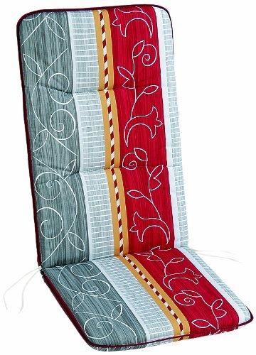 BEST 05400772 Coussin pour Chaise Longue à roulettes 190 x 60 x 6 cm