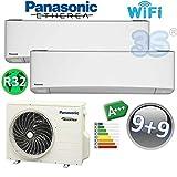 DUO Split klima gerät ETHEREA PANASONIC Klimaanlage 2