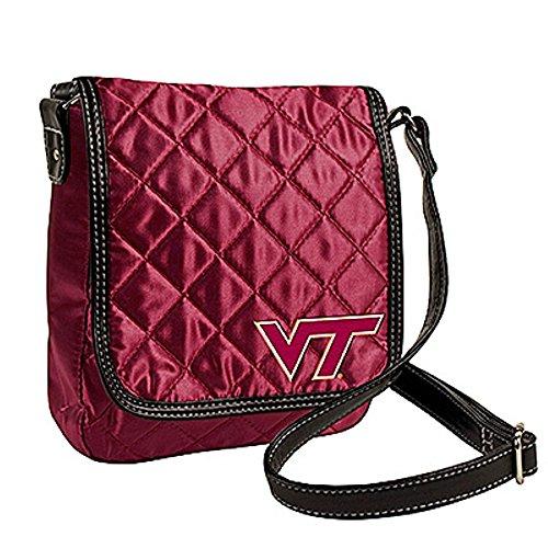 Littlearth Virginia Tech Hokies NCAA Quilted Purse Handbag