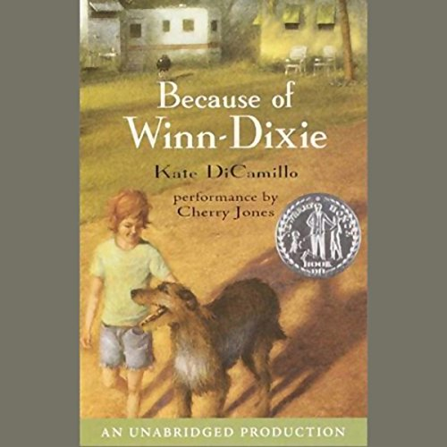 Because of Winn-Dixie                   By:                                                                                                                                 Kate DiCamillo                               Narrated by:                                                                                                                                 Cherry Jones                      Length: 2 hrs and 29 mins     1,027 ratings     Overall 4.6