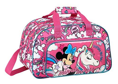 Safta 712012273 Bolsa de Deporte de Minnie Mouse