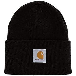 (カーハート)Carhartt Acrylic Watch Hat A18-13F ニットキャップ ニット帽 ワッチキャップ 帽子 ビーニー Black F