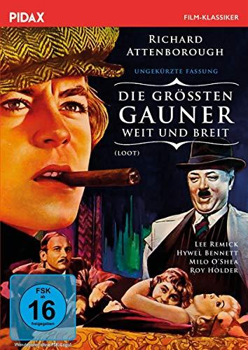 Die größten Gauner weit und breit (Loot) - Ungekürzte Fassung / Brillante Krimikomödie mit Starbesetzung (Pidax Film-Klassiker)