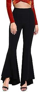 06e7c1a373 Amazon.it: pantaloni a zampa delefante - Donna: Abbigliamento