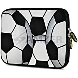 Amzer 7.0-7.75 Inches Designer Neoprene Sleeve Case for iPad/Tablet/e-Reader and Notebooks, Football World (AMZ5250077)