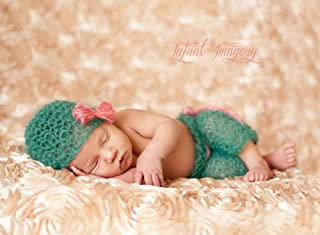 Boho Baby Hat and Pants Set Knitting Pattern - 4 Sizes Included
