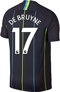 Manchester City Away De Bruyne 17 Jersey 2018/2019 (Authentic EPL Printing)