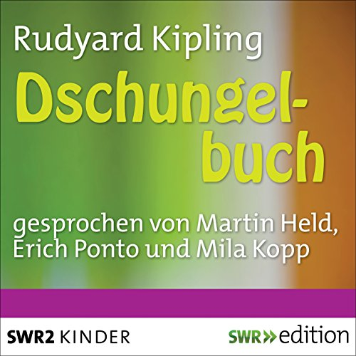 Dschungelbuch audiobook cover art