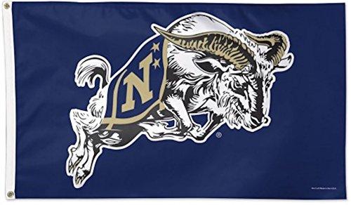 WinCraft NCAA US Naval Academy Deluxe Flag, 3