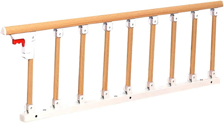 Playpen Playard Aluminum Alloy Safety Bed Rails Guards Grip Bumper Bar for Elderly, Folding Safety Bed Guard for Toddler Kids (color    2, Size   Length 123cm)