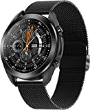 Smart Watch Make/Answer Call, Health and Fitness Tracker with Sleep Monitor, App Message Reminder, SOS one Touch Call,Waterproof Smart Watch for Android iOS Phones