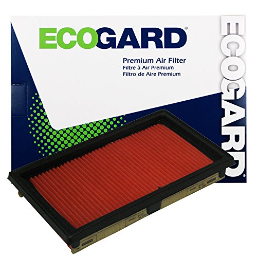 ECOGARD XA5669 Premium Engine Air Filter Fits Chevrolet City Express 2.0L 2015-2018 | Infiniti Q50 3.7L 2014-2017, Q50 3.5L HYBRID 2014-2018 | Nissan Versa 1.8L 2007-2012, NV200 2.0L 2013-2019