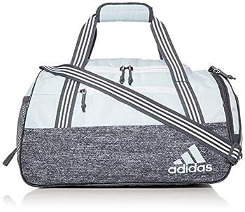 adidas unisex-adult Squad Duffel Bag Sky Tint Blue/ Jersey Onix One Size