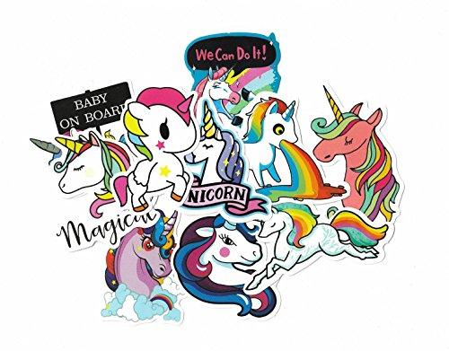 greestick Stickerbomb Eenhoorn 10 stuks Unicorn by Sticker gekleurd