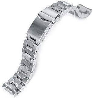 Cinturino per orologio con cinturino 20mm Hexad Oyster acciaio inossidabile 316L Cinturino per orologio per Seiko MM300 Pr...