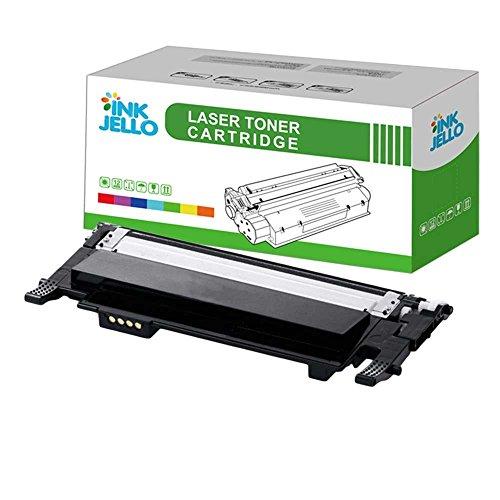 InkJello kompatibel Toner Patrone Ersatz für Samsung CLP-360 CLP-365 CLP-365W CLX-3300 CLX-3305 CLX-3305FN CLX-3305FW CLX-3305W Xpress SL-C410W SL-C460FW SL-C460W CLT-406S (Schwarz, 1-Pack)