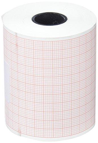 tecnocarta ri3706003016e Rolle von Papier Wärme für ECG für Cardioline Delta 1/3Plus, 60mm x 30m, Set von 4Stück