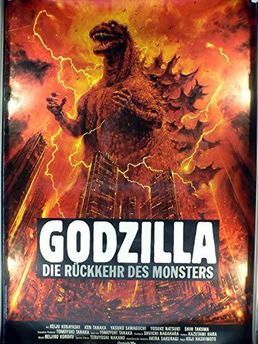 Godzilla - Die Rückkehr des Monsters - Raymond Burr Filmposter 160x120cm gerollt