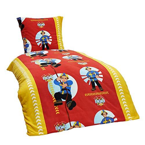 2-delig kinder warm knuffel fleece beddengoed eenhoorn brandweerman paard pingin 135x200 80x80