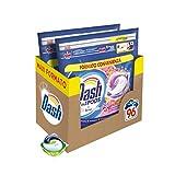 Dash Pods Allin1 - Detergente para lavadora en cápsulas Bouquet primaveral, tamaño maxi de 48 x 2 unidades, 96 lavados