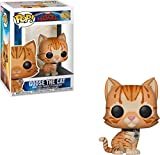Funko - Pop! Marvel: Captain Marvel - Goose The Cat Figura Coleccionable, Naranja (36379)