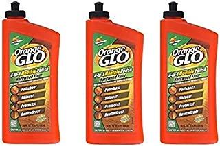 Orange Glo Hardwood Floor 4-in-1 One Easy Step Cleaner Fresh Orange Scent - 3PC