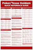 POKER TEXAS HOLD' EM quick REFERENCE guide poster 24X36 EDUCATIONAL gambling