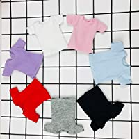 1ピースBlyth洋服ホワイト/ピンク/レッド/グレー/黒短手クラシックTシャツ、Obistu、Licca、FR 1/6人形,バイオレット