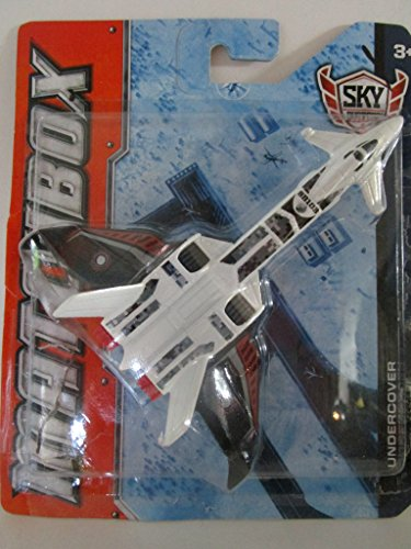 Sky Busters Twin Blast Subsonic Interceptor The Bat Stealth Launcher Matchbox Die-Cast Planes 2012
