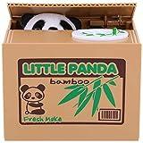 Auped Tirelire Coin Tirelire Électronique Automatique Panda Banque D'épargne Cadeau Significatif pour Les Enfants.