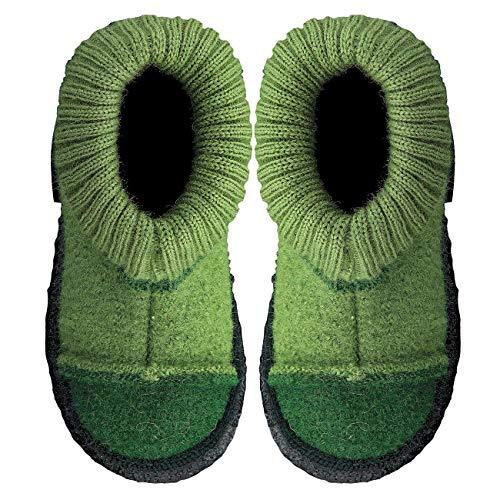 Nanga Kinder - Unisex Hausschuh Tal grün 24
