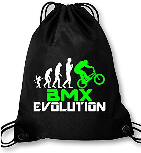 EZYshirt® BMX Evolution Turnbeutel