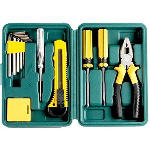 Juego de herramientas de carpintería de 27 piezas Juego de destornilladores Juego de herramientas de reparación de cuchillos Juego de herramientas en una maleta para instrumentos de cajas de herr